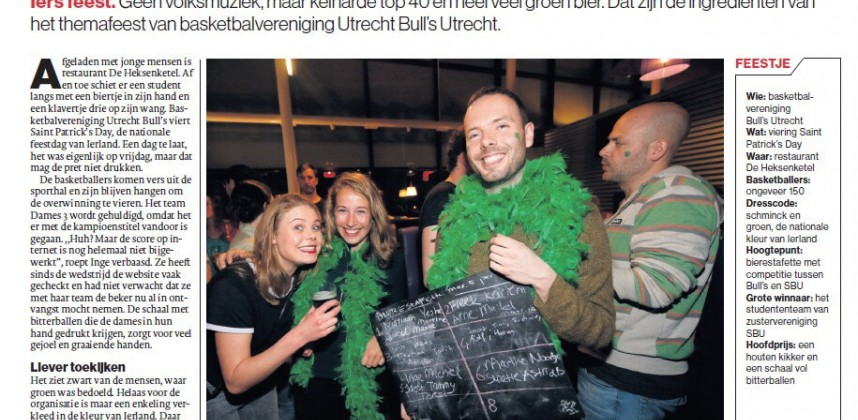 Utrecht Bulls goes famous!