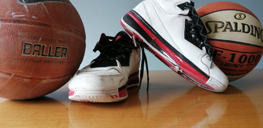 Ode aan je basketbalschoenen!